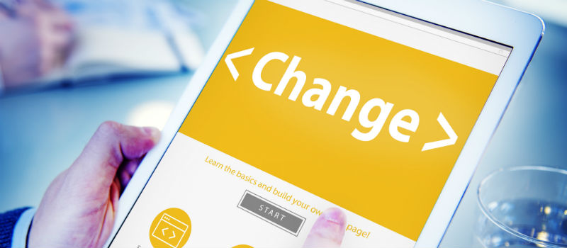 aplicación change